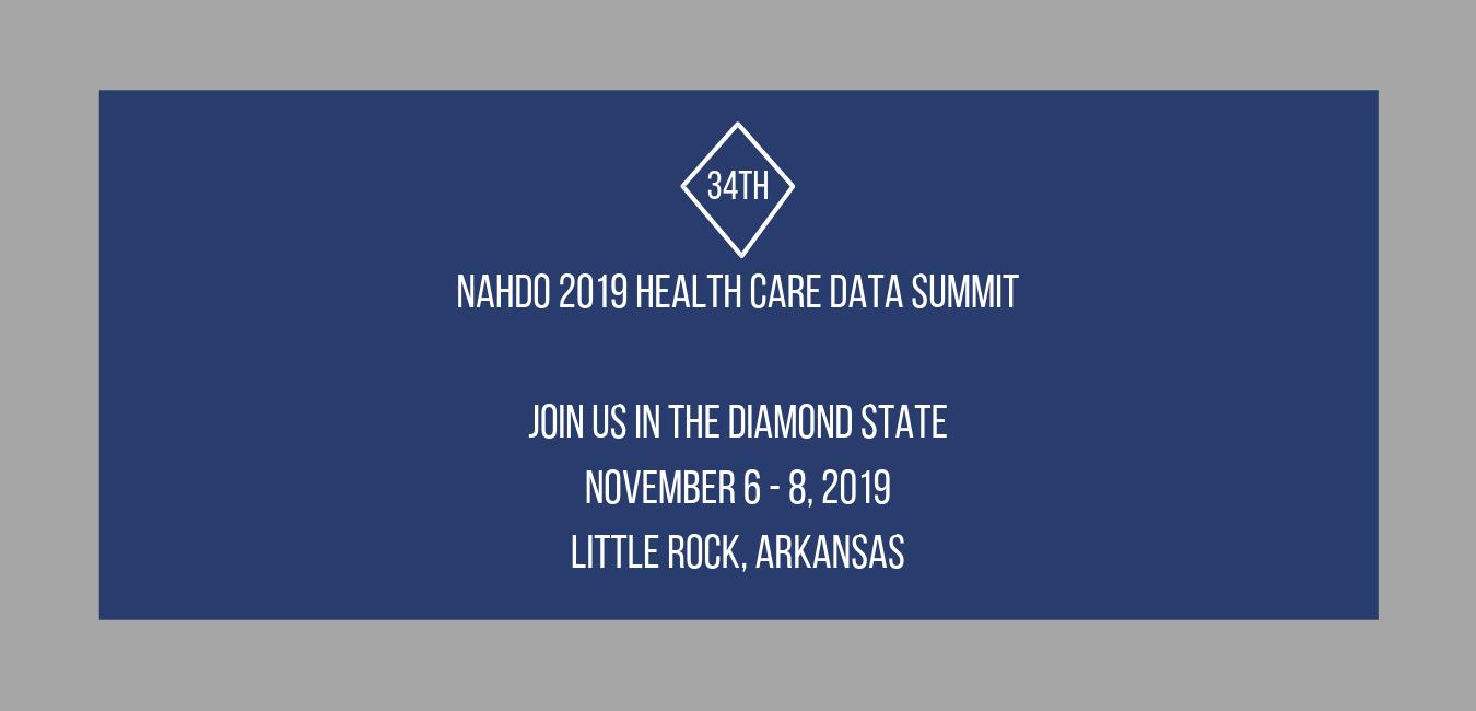 Welcome to NAHDO | National Association of Health Data